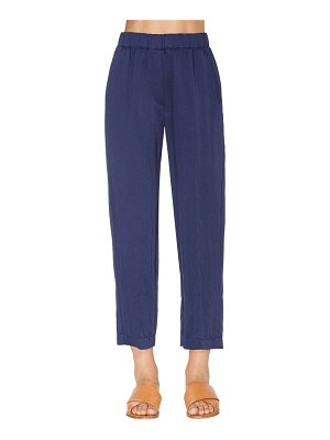 FORTE_FORTE High waist washed viscose pants