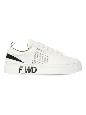 F_WD 30mm printed faux leather sneakers