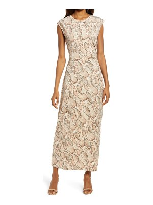 Fourteenth Place ruched jersey dress