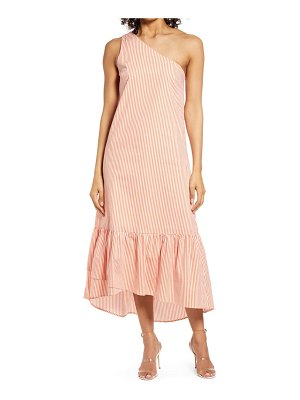 Fourteenth Place tiered one-shoulder dress