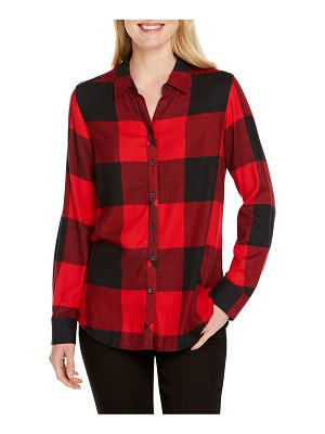 Foxcroft buffalo plaid shirt