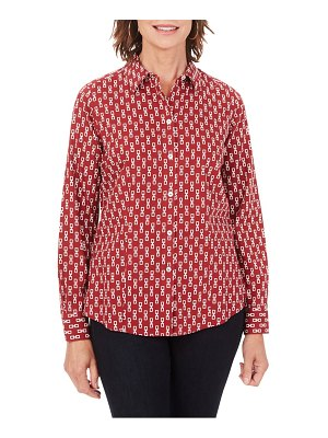 Foxcroft dianna button-up shirt