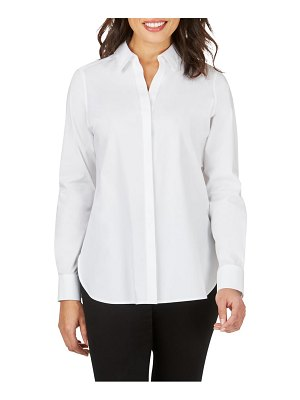 Foxcroft kylie non-iron cotton button-up shirt