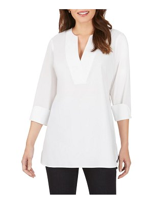 Foxcroft vaughn non-iron tunic top