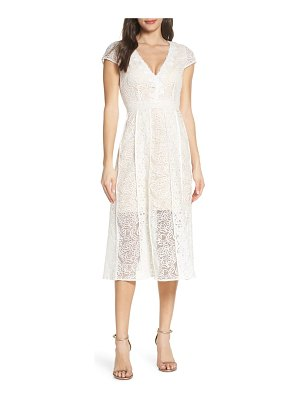 Foxiedox edith floral lace cocktail dress