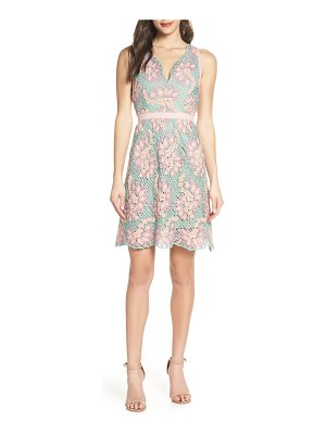 Foxiedox jasmine lace fit & flare dress