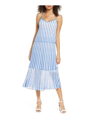 Foxiedox luna stripe tiered knit dress