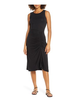 Fraiche by J ruched dress