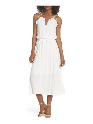 Fraiche by J ruffle midi dress