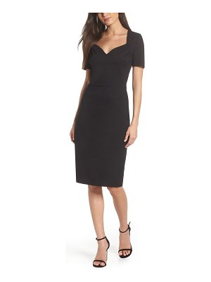 Fraiche by J sweetheart pencil dress