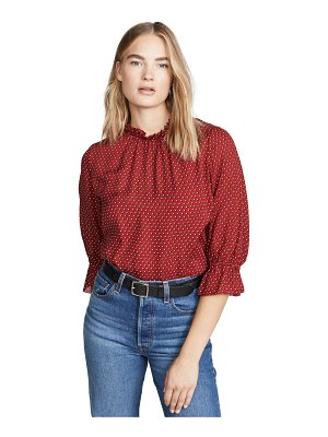 FRAME brooke top