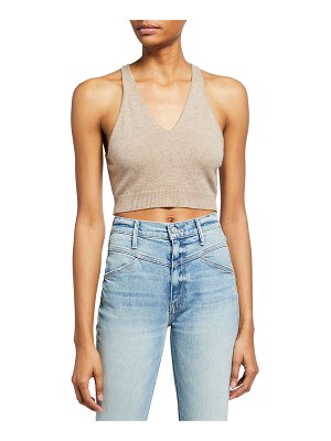 FRAME Cashmere Cropped Tank
