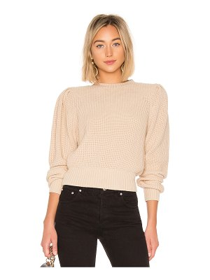 FRAME Cropped Crew Sweater
