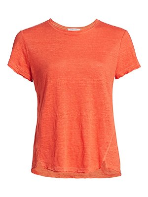 FRAME easy true organic linen t-shirt