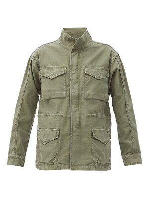FRAME flap-pocket cotton utility jacket