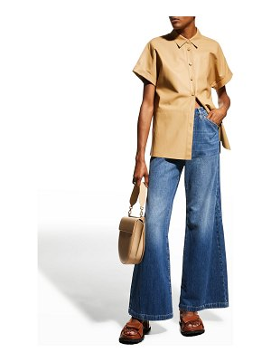 FRAME Le Baggy Palazzo Jeans