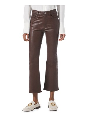 FRAME Le Crop Mini Boot Leather Pants