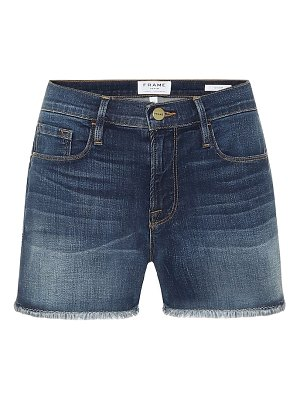 FRAME le cut off denim shorts