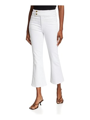 FRAME Le Hardy Crop Flare Jeans