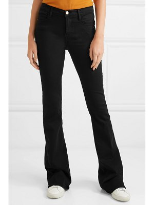FRAME le high flare high-rise jeans