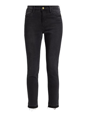 FRAME le high-rise cropped skinny jeans