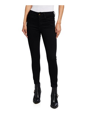 FRAME Le One Skinny Crop Jeans