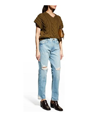 FRAME Le Slouch High-Rise Jeans