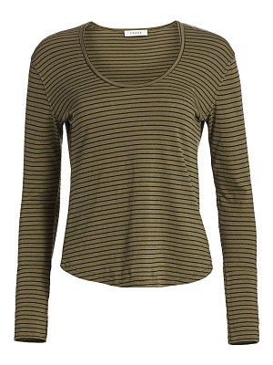FRAME long cuff striped long sleeve t-shirt