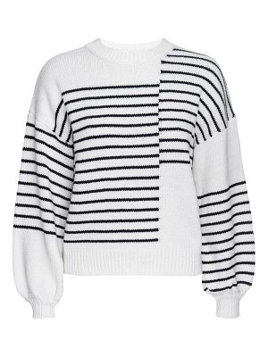 FRAME mixed stripe sweater