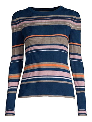 FRAME striped long-sleeve sweater