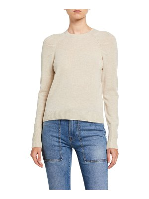 FRAME Sustainable Cashmere Raglan-Sleeve Sweater