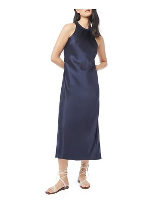 FRAME washable bias cut silk satin dress