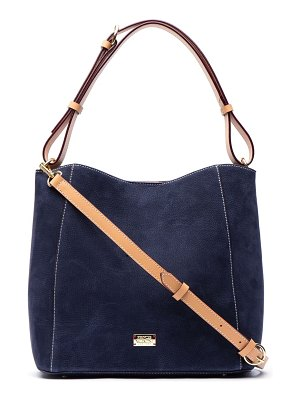 Frances Valentine nubuck leather hobo bag