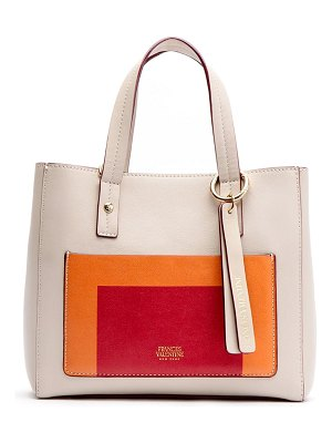 Frances Valentine small chloe leather satchel