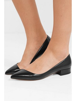 Francesco Russo leather ballet flats