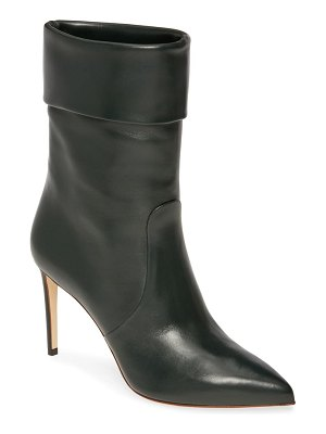 Francesco Russo slouch pointy toe bootie