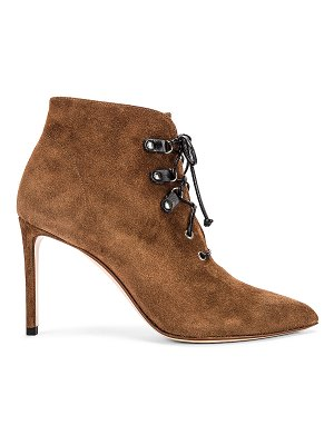 Francesco Russo suede booties