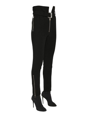Francesco Scognamiglio High waist cady stretch pants