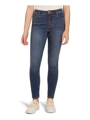 Frank And Oak debbie high waist ankle skinny jeans