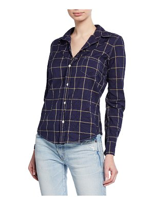 Frank & Eileen Barry Grid Long-Sleeve Button-Down Shirt