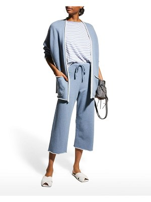 Frank & Eileen Beach Cardigan with Patch Pockets