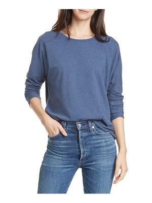 Frank & Eileen continuous long sleeve cotton jersey tee