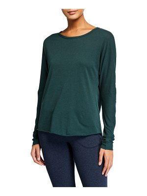 Frank & Eileen Continuous-Sleeve Solid Cotton Tee