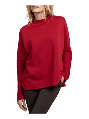 Frank & Eileen Funnel-Neck Cotton Fleece Sweatshirt