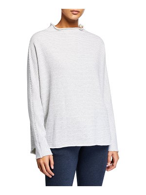 Frank & Eileen Funnel-Neck Fleece Sweatshirt