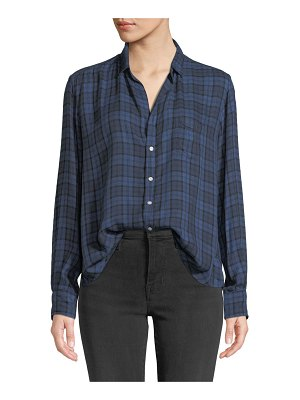 Frank & Eileen Plaid Patch-Pocket Button-Down Shirt