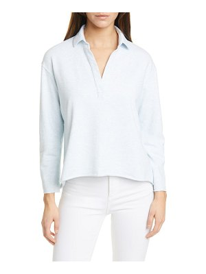 Frank & Eileen split neck sweatshirt
