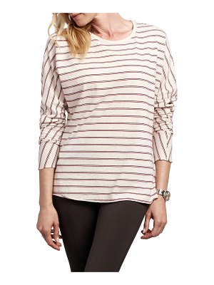 Frank & Eileen Striped Continuous Sleeve Cotton Tee