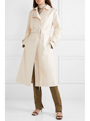Frankie Shop eve faux leather trench coat