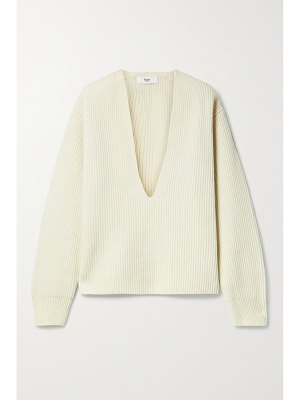 Frankie Shop ribbed wool sweater
